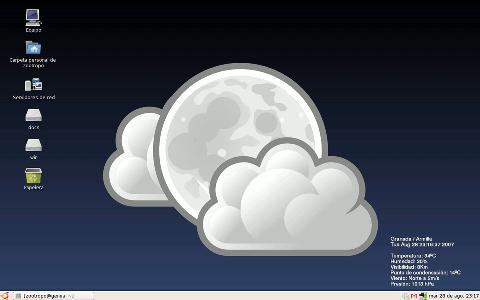 Fond d cran ma vie de linuxien dans les nuages for Decoration fenetre compiz