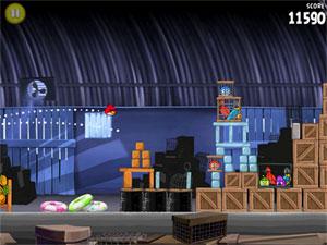 Uno de los mejores juegos para iPad: Angry birds