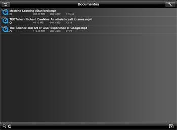 AVPlayerHD, un reproductor de vídeo para iPad