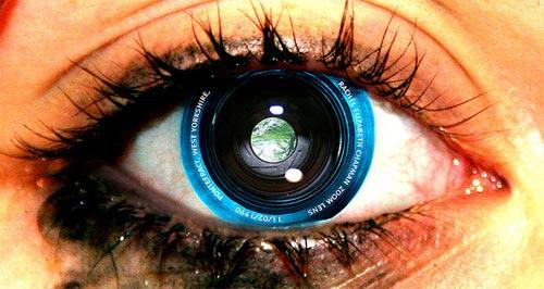 El ojo como cámara fotográfica