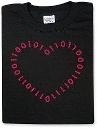 Camiseta amor geek