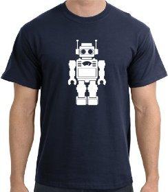 Regalos originales: Camiseta Retro Robot