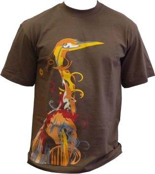 Camiseta Ubuntu Hardy Heron