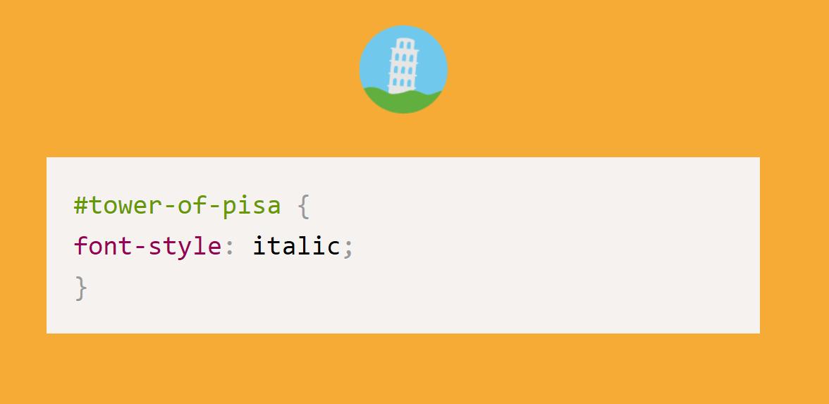 Humor con CSS: La Torre inclinada de Pisa