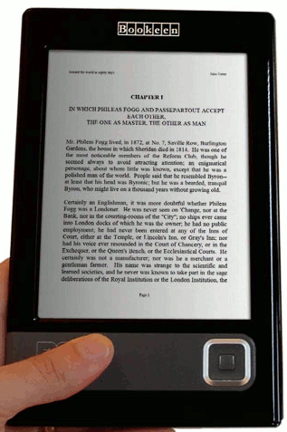 Libro electrónico Cybook Gen3