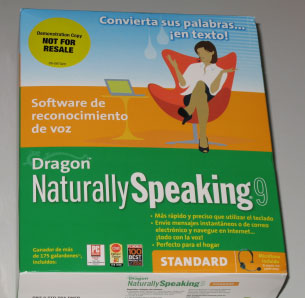 Paquete de Dragon Naturally Speaking