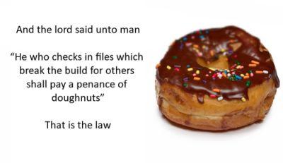 El mandamiento donut
