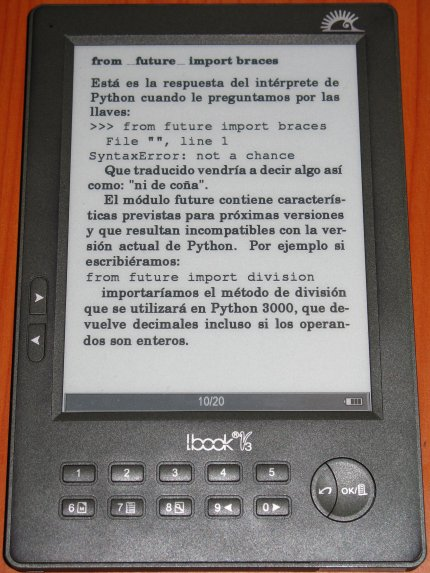 Feeds en libro electrónico