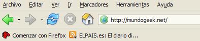 Tema actual de Firefox