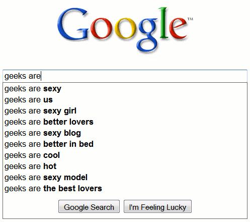 Los geeks son...