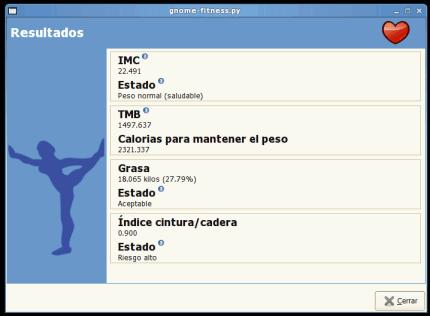 Gnome Fitness: Comprueba tu estado de forma