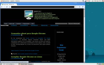 Google Chrome en Linux
