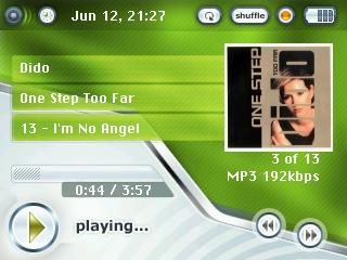 Tema Green5g para los iPod 5G
