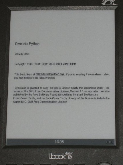 HTML modo 1 libro electrónico Hanlin v3