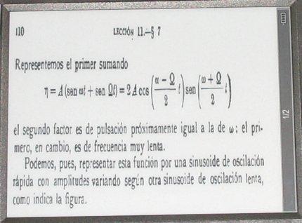 PDF en libro electrónico Hanlin v3