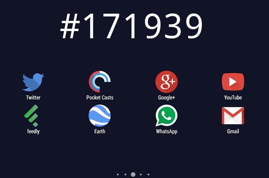 Hexa clock live wallpaper, un fondo de pantalla animado para Android