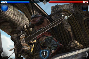 Infinity Blade para iPad