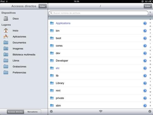 iFile para iPad