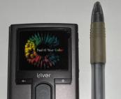 tamaño del iriver h10