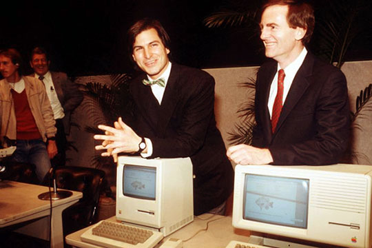 Steve Jobs y John Sculley