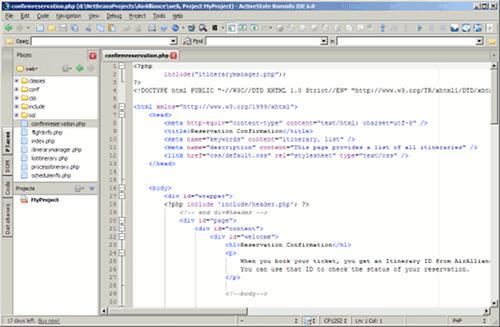 IDEs para PHP: Komodo IDE
