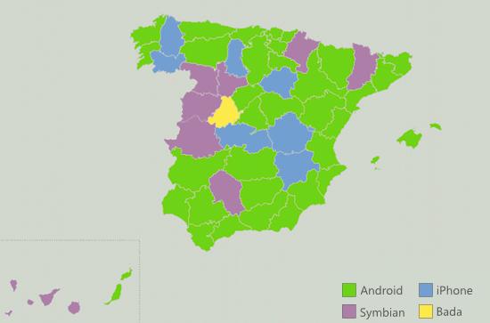 Móviles por provincia