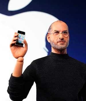 La figura de acción de Steve Jobs