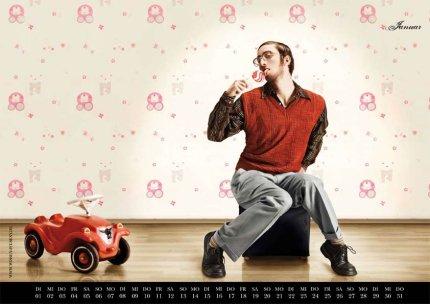 Calendario sexy de nerds