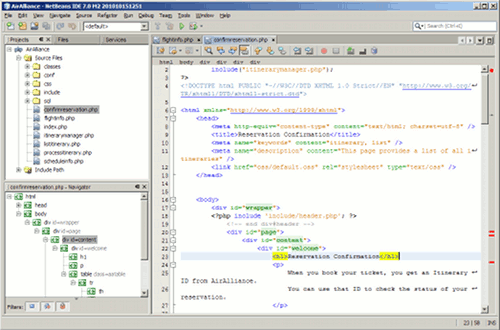 IDEs para PHP: Netbeans
