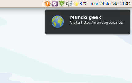 Notificaciones Ubuntu Jaunty Jackalope