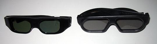 Gafas 3D activas y pasivas
