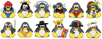 Pingüinos Tux