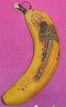 Plátano en el kit de prensa del F305