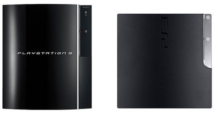 Playstation 3 Slim vs. Playstation 3
