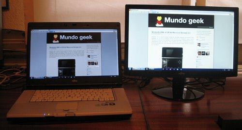 Mi nuevo portátil y mi nueva pantalla