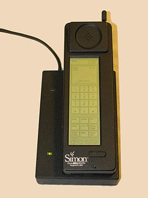 El primer smartphone de la historia, el IBM Simon