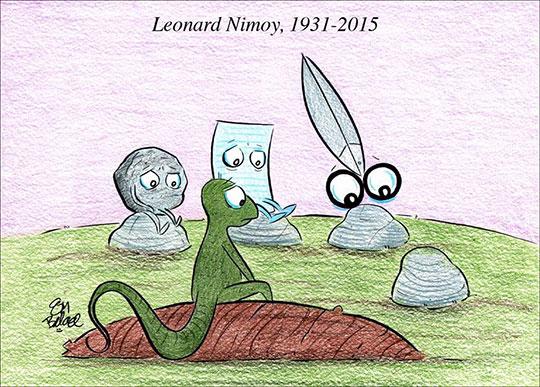 Piedra, papel, tijeras y lagarto han quedado huérfanos :(