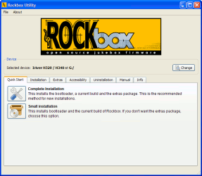 Rockbox: firmware open source para reproductores de audio
