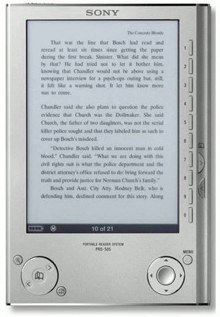 Libro electrnico Sony Reader