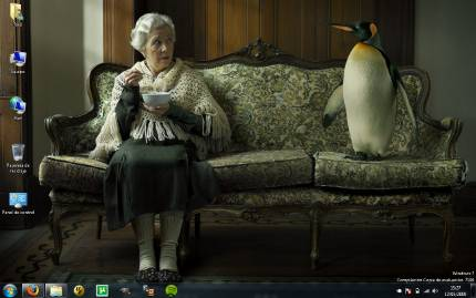 Tema geek para Windows 7