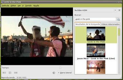 Ver los vídeos de YouTube en Totem