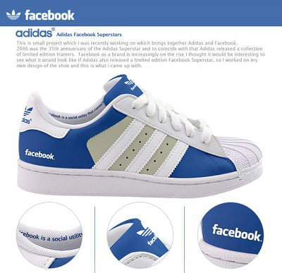 Zapatillas Facebook