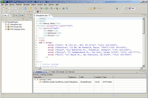 IDEs para PHP: Zend Studio